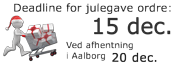 Deadline for julegave bestillinger