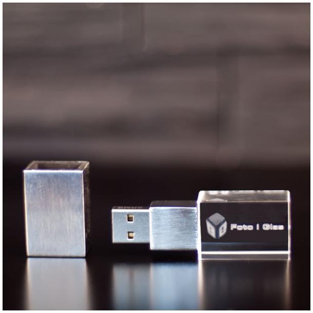 USB drev m.lys - 15 x 20 x 60 mm